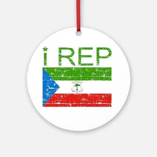 I Rep Equatorial_Guinea Ornament (Round)