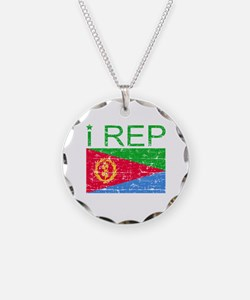 I Rep Eritrea Necklace
