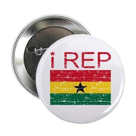 """I Rep Ghana 2.25"""" Button (100 pack)"""