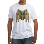 Native American Breastplate 6 Fitted T-Shirt