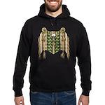 Native American Breastplate 6 Hoodie (dark)