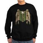 Native American Breastplate 6 Sweatshirt (dark)