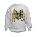 Native American Breastplate 6 Kids Sweatshirt