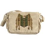 Native American Breastplate 6 Messenger Bag