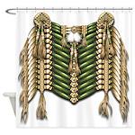Native American Breastplate 6 Shower Curtain
