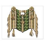 Native American Breastplate 6 Small Poster