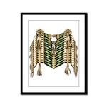 Native American Breastplate 6 Framed Panel Print
