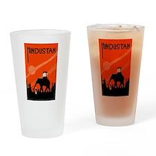 Hindu Hindustan Drinking Glass