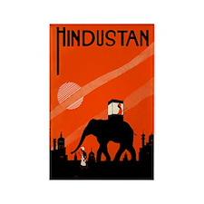 Hindu Hindustan Rectangle Magnet (100 pack)