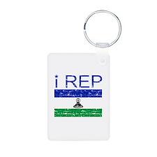 I Rep Lesotho Keychains
