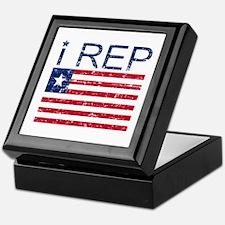 I Rep Liberia Keepsake Box