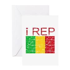 I Rep Mali Greeting Card