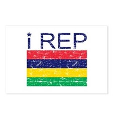 I Rep Mauritius Postcards (Package of 8)