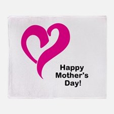 Happy Mothers Day! Throw Blanket
