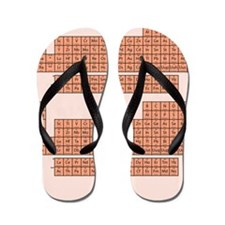 Periodic Table - Pink Flip Flops