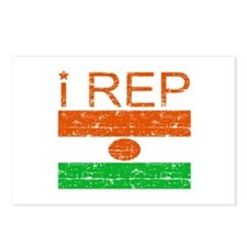 I Rep NIger Postcards (Package of 8)