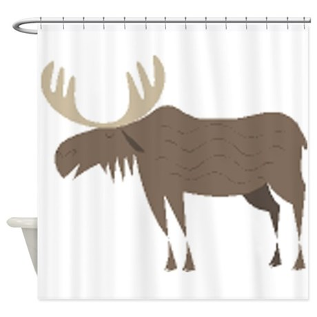 Moose Shower Curtain