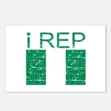 I Rep Nigeria Postcards (Package of 8)