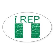 I Rep Nigeria Decal
