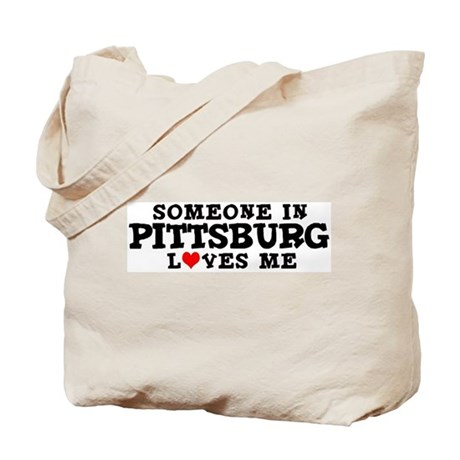 Pittsburg: Loves Me Tote Bag