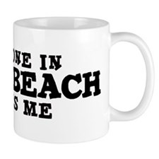 Pismo Beach: Loves Me Small Mug