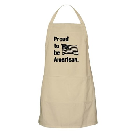 Proud to be American. Apron