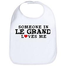 Le Grand: Loves Me Bib