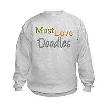 MUST LOVE Doodles Sweatshirt