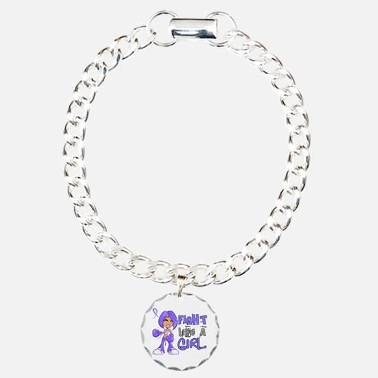 Fight Like a Girl 42.8 Stomach Cancer Bracelet