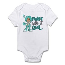 Fight Like a Girl 42.8 PKD Infant Bodysuit
