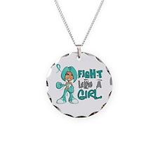 Fight Like a Girl 42.8 PKD Necklace