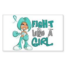 Fight Like a Girl 42.8 PKD Decal