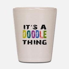 Doodle THING Shot Glass