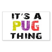 Pug THING Decal