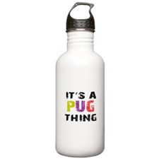 Pug THING Water Bottle
