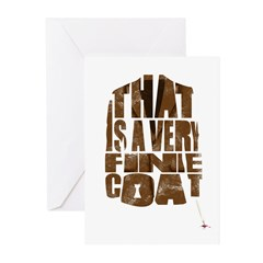 fine coat Greeting Cards (Pk of 20)