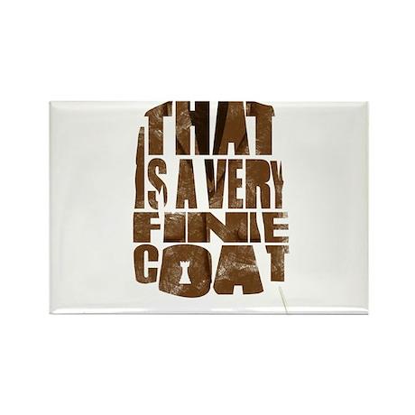 fine coat Rectangle Magnet (10 pack)