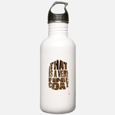 fine coat Water Bottle
