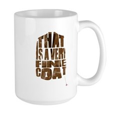 fine coat Mug
