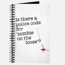 zombie on the loose Journal