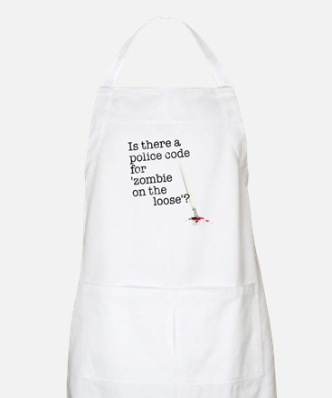 zombie on the loose Apron