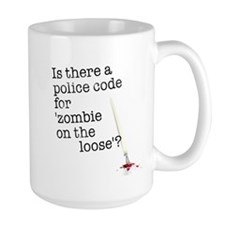 zombie on the loose Mug