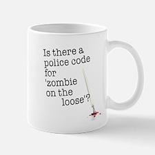 zombie on the loose Mug