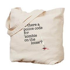 zombie on the loose Tote Bag