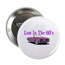 """Lost In The 60's 2.25"""" Button"""