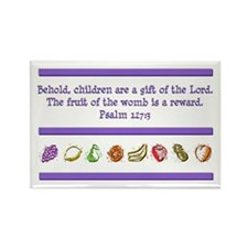 Psalm 127:3 Rectangle Magnet