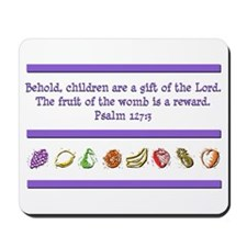 Psalm 127:3 Mousepad