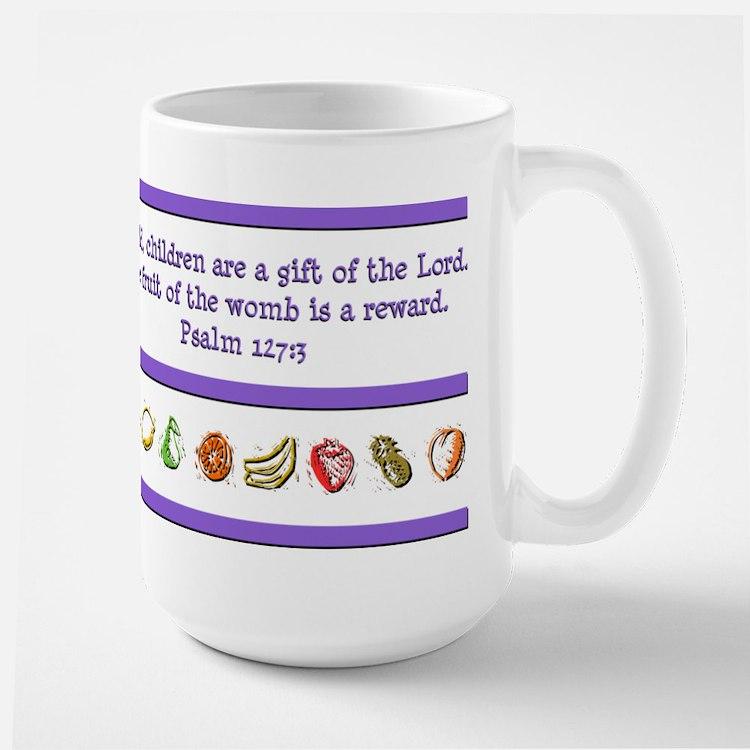 Psalm 127:3 Large Mug