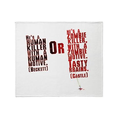 Killer Throw Blanket