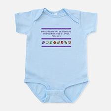 Psalm 127:3 Infant Bodysuit